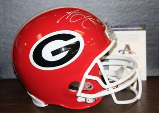 AJ Green Autographed Full Size Georgia Bulldogs Helmet  AAA