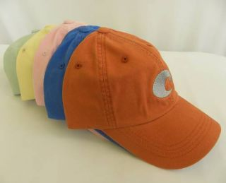 Costa Del Mar Sunglasses Icon Twill Baseball Cap Hat
