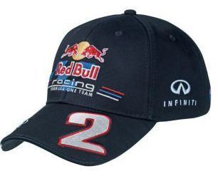 Mark Webber 2012 Red Bull Racing F1 Cap Hat