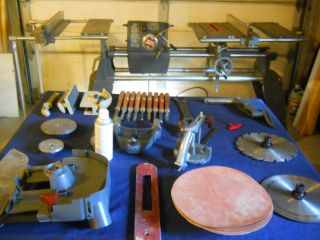 WOODWORKING TOOL SHOPSMITH MARK V TABLE SAW DRILL PRESS LATHE 7 TOOLS