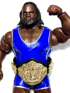 WWE MATTEL MARK HENRY BEST OF EXCLUSIVE OVERSIZE BELT WOLRD