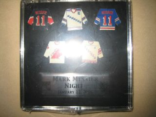 Mark Messier New York Rangers NHL Limited Edition Retirement Night