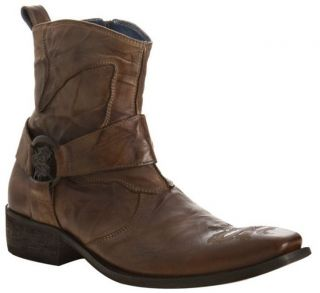 Mark Nason Mens Shoes Dragon Harness Brown Boots New Sz