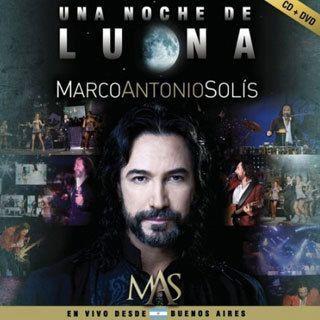 CD DVD Marco Antonio Solis Una Noche de Luna En Vivo Desde Buenos