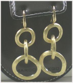 Marco Bicego Jaipur Link Y Gold Earrings Linked Hoops