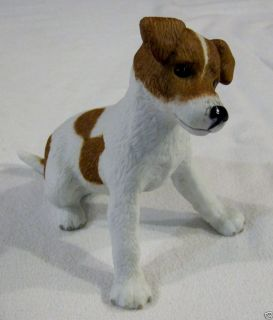 LENOX The Little Jack Russell porcelain collectible dog figurine 2002