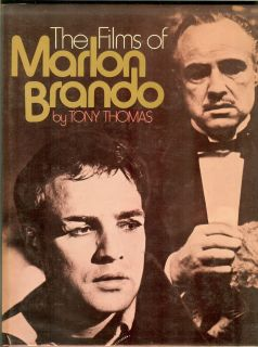 The Films of Marlon Brando Tony Thomas Hardcover 1st Edition