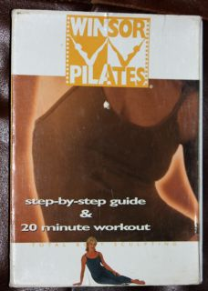 Mari Winsor Pilates DVD Step by Step Guide 20 MIN Workout