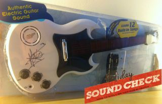 Martin Gore Signed Gibson Toy Guitar Benefits Youth Recording Studios