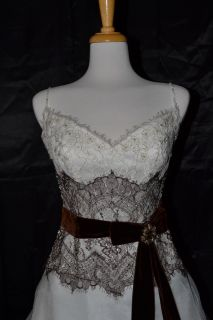 Casablanca Bridal Wedding Gown Dress 1905 Sz 10