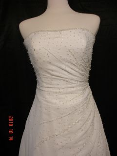Mori Lee Bridal Wedding Gown Dress 3605 Sz 12