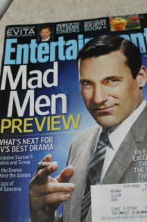 Entertainment Weekly March 2012 Mad Men Feature More 1198