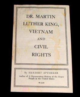 1967 DR MARTIN LUTHER KING CIVIL RIGHTS NEGRO BLACK SEGREGATION