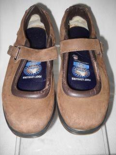 MBT Kaya Womens Brown Leather Mary Jane Walking Shoe 8