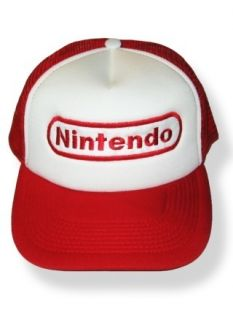Nintendo Logo Embroidered Cap Super Mario Bros GBA Hat