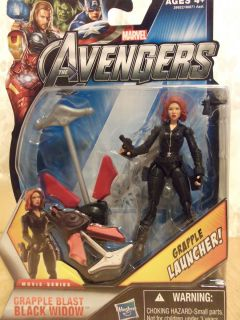 Black Widow  Grapple Blast  Marvel Avengers Movie Series Action Figure