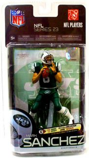 McFarlane NFL Exclusive Mark Sanchez Jets Green Uniform