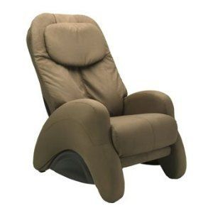 iJoy 300 Cashew Microsuede Massage Chair Recliner Paid $999 Used Less