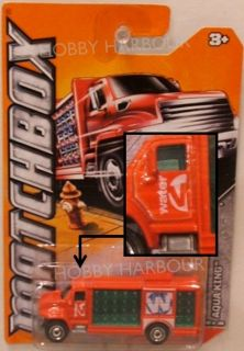 Matchbox 20 Aqua King Water Delivery Truck 2012 Issue New