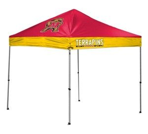 University of Maryland Terrapins Terps 10 X 10 Canopy Tent Shelter