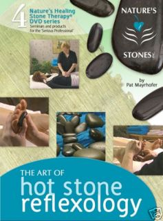 Hot Stone Reflexology Massage Video DVD 18 PG Manual