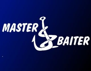 Master Baiter 10 Decal Sticker Funny Fishing Humor Car