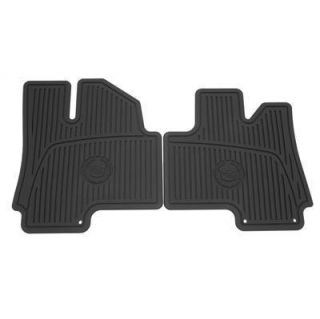 Cadillac SRX All Weather Floor Mats New GM 19172258 19172260
