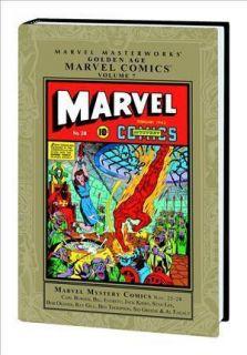 Masterworks Golden Age Marvel Mystery Comics Volume 7 Submariner Human
