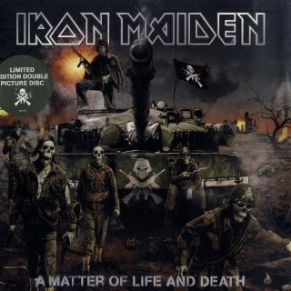 Iron Maiden A MATTER OF LIFE AND DEATH Ltd Edt PICTURE DISCS NEW Vinyl