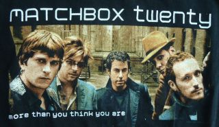 Mens Matchbox Twenty 20 More Than You Think You Are Concert Tour