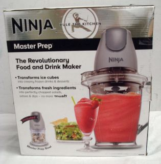 Ninja Master Prep QB900 Blender Food Processor and Drink Maker