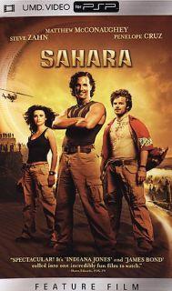 Sahara [UMD for PSP], DVD, Matthew McConaughey, Steve Zahn, Penelope