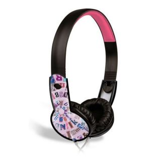Maxell 190296 Purple Childrens Safe Soundz Over Ear Stereo Headphones