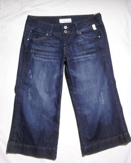 New ♥ Maurices ♥ Womens Capri Blue Jeans ♥ Juniors Size 9 10