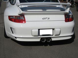 Porsche 997 GT3 Stainless Steel NHP Exhaust Tip