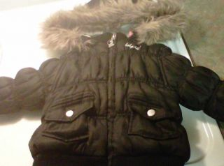 Baby Girls Baby Phat Winter Jacket Size 24M
