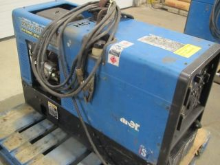Miller Bobcat 250 NT Gas Power Welder Generator Mig Stick 250amp gun
