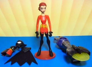 The Batman Exp Blaster Batgirl Barbara Gordon Action Figure Animated