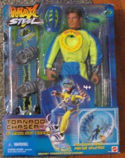 Max Steel Tornado Chaser Figure MISB