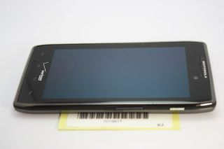 MOTOROLA RAZR MAXX BLACK CELL PHONE VERIZON CDMA CLEAN ESN GPS ANDROID