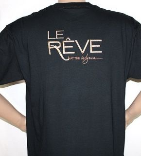 Wynn Encore Hotel Casino Las Vegas LE REVE Tee Shirt XL SALE So Hot