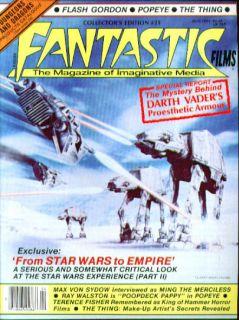 FILMS #23 Star Wars Flash Gordon Max Von Sydow Ray Walston ++ 4 1981
