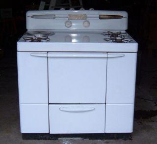 Maytag Dutch Oven Range Antique Gas Stove Vintage