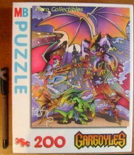 Gargoyles 2D Jigsaw 200 Pieces Puzzle Asst 14428 MB Disney