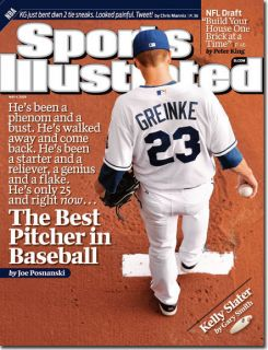 May 4 2009 Zack Greinke Kansas City Royals Sports Illustrated