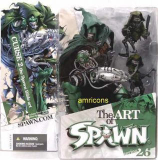 McFarlane Toys Art of Spawn Series 26 Curse II Figure