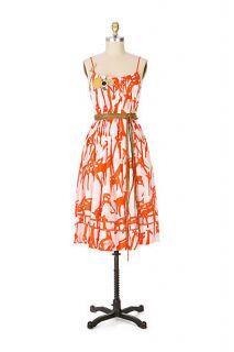 Anthropologie Giraffe Dress by McGinn 2