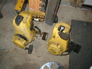 Vintage McCulloch Kart Engines Both Have Compression Mac Saw