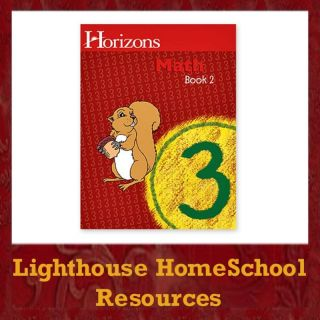 Alpha Omega Horizons Math Grade 3 Book 2 Homeschool New 1580959709