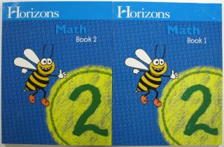 Horizons Math 2 Student Book 1 Book 2 1580959466